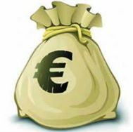Resultado de imagen de bolsa de euros